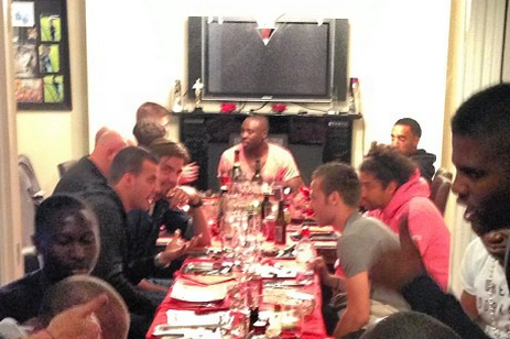 Coloccini's Dinner Party Pics Go Viral