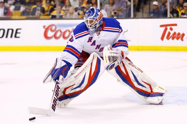 NY Rangers Goalie Henrik Lundqvist Puts Up 'help Wanted' Sign