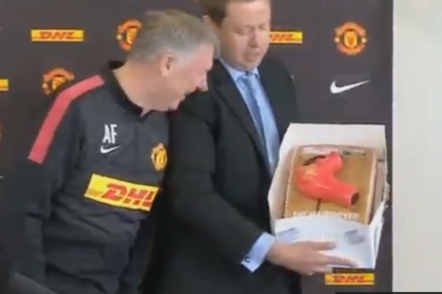 Sir Alex Gets Hairdryer Cake