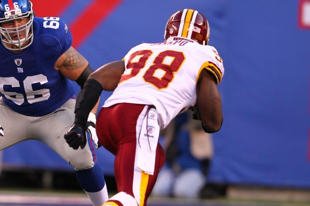 Redskins Must Bring Pass Rush Back to Life