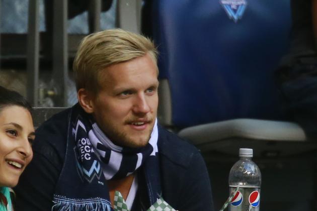 Sweden's Edler Suspended for Tournament for Hit on Staal