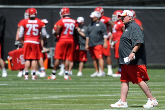 Andy Reid on OL: 'We've Got Some Flexibility'