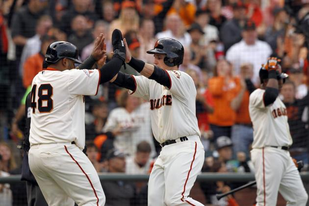 San Francisco Giants Are Leading the National League West with Great Offense