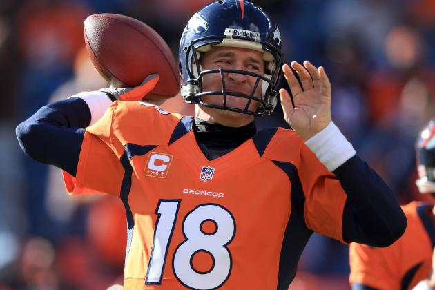 Under Insurance Policy, Broncos Get $10 Million If Peyton Can't Play in 2014