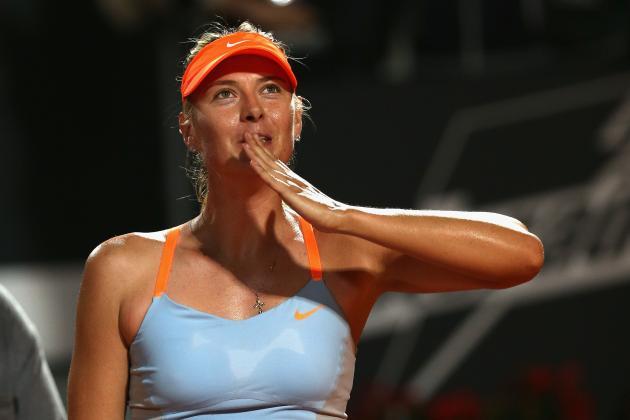 Sharapova Withdraws Prior to Quarter in Rome