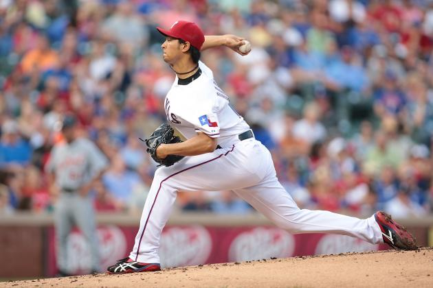 Texas Rangers' Yu Darvish, Nolan Ryan and the Pitch Count Problem