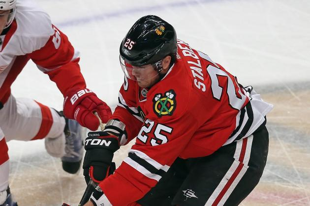 Stalberg Trying to Work His Way Back into Blackhawks Lineup