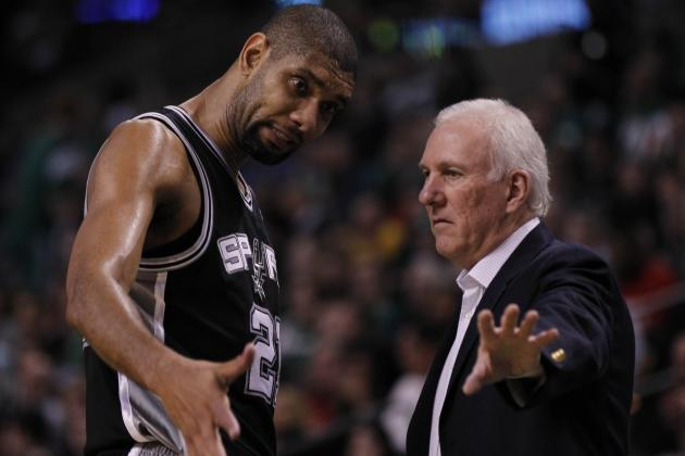 Gregg Popovich Sits Tim Duncan Late and the Spurs Win