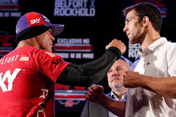 UFC on FX 8 Weigh in Results for Vitor Belfort vs Luke Rockhold Fight Card