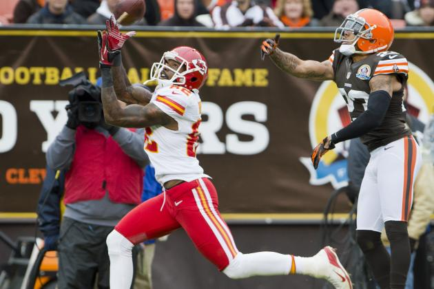 Chiefs Searching for Clear-Cut 2nd WR Alongside Bowe
