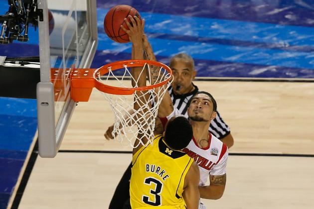 Siva to Trey Burke on Title Game Play: 'It Was a Good Block'