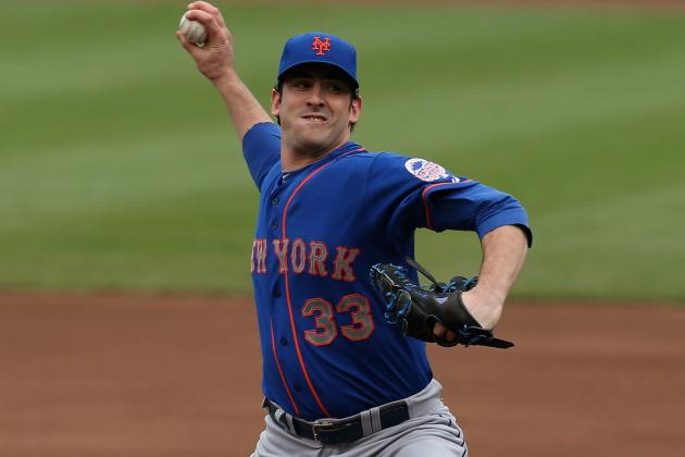 Harvey Moves to 5-0 as Mets Slip Past Cubs