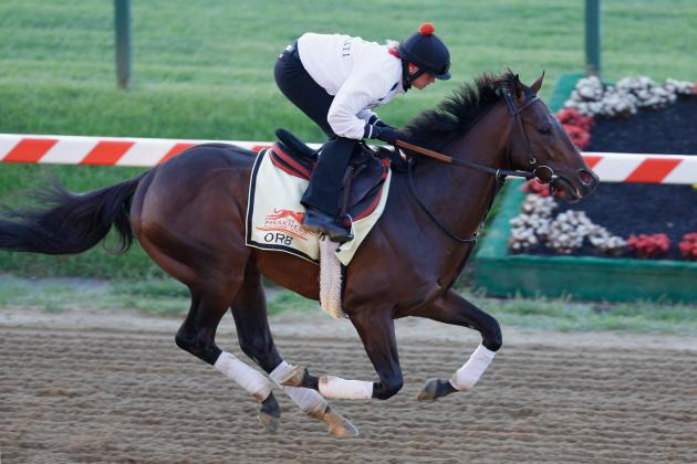 Preakness 2013 Post Positions: Contenders That Will Run out of Favorable Slots