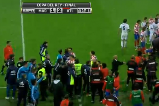 Video: Copa Del Rey Ends in Complete Chaos
