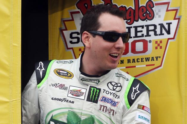Busch Snaps Streak, Wins Truck Race at Charlotte