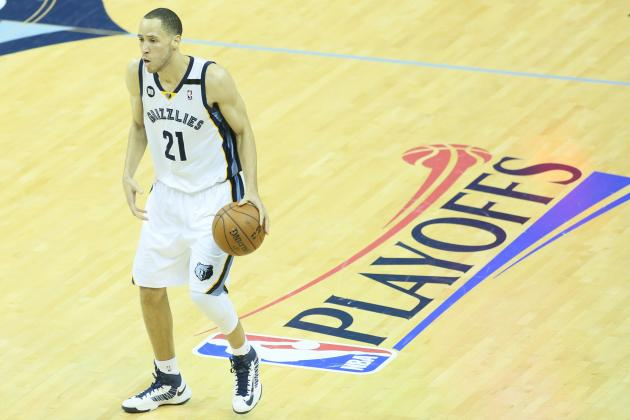 NBA Playoffs 2013: Tayshaun Prince Is Familiar with Memphis Grizzlies New Stage