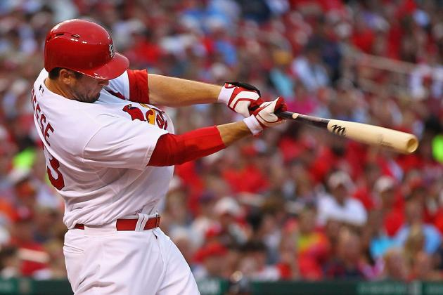 An Early Blast from Freese Leads Cards to Win