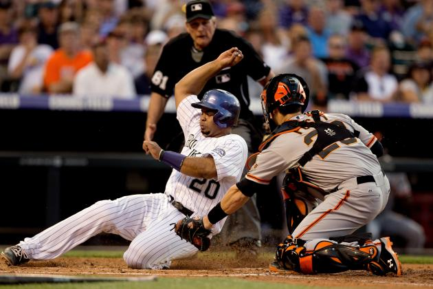 Rockies Snap 10-Game Losing Skid Against Giants