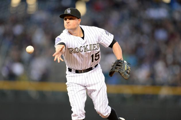 Rockies Top Giants with Grand Performance by Jordan Pacheco
