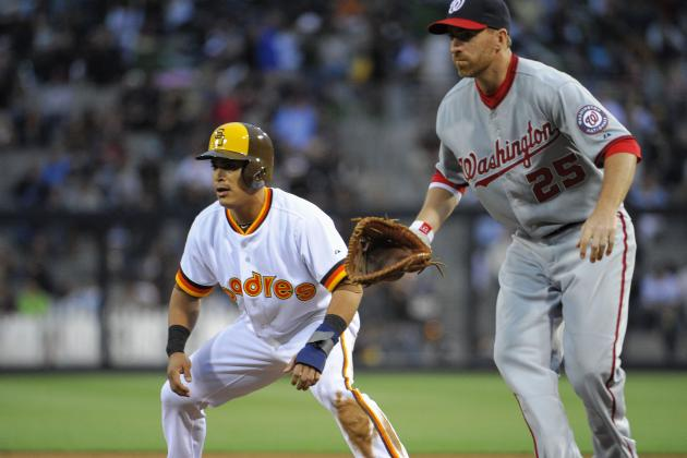 LaRoche, Nats Outlast Padres in 10 Innings