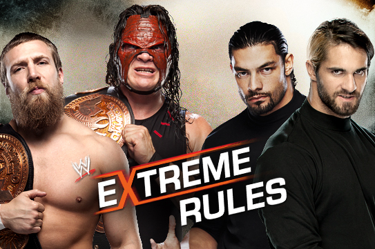 WWE Extreme Rules 2013: Looking at Team Hell No vs. Reigns and Rollins
