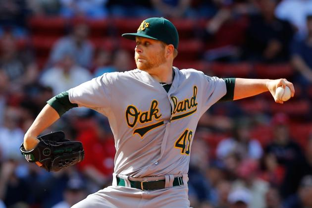 Oakland A's Pitcher Brett Anderson out at Least a Month with a Fractured Foot