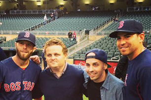 Cast from 'The Sandlot' Makes Appearance at Red Sox Game