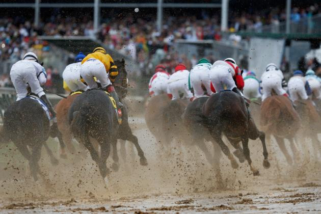 Preakness 2013 Weather: How Horses Will Fare in Muddy Track