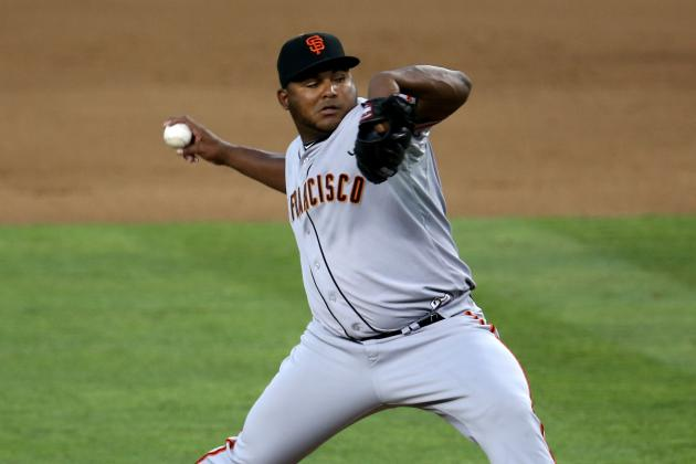 Giants Recall RHP Jean Machi, Option Pill