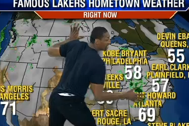 Metta World Peace Does the Weather, Talks Lakers Season