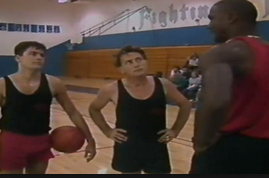 Watch Michael Jordan Play Basketball Against Martin and Charlie Sheen in 1986