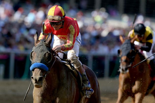 Preakness 2013 Jockeys: Highlighting Riders of Top Challengers
