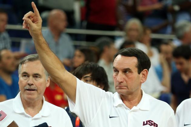 Mike Krzyzewski Strongly Considering Return to USA Basketball