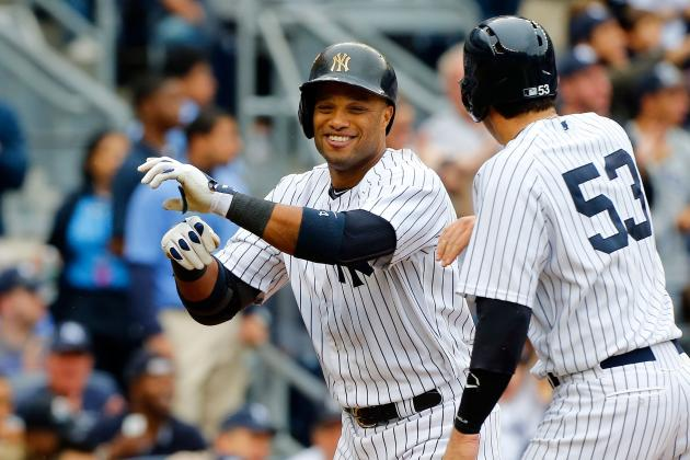 Robinson Cano Goes Deep Twice as Yankees Pound Blue Jays, 7-2