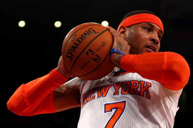 Like Patrick Ewing Did in 1994, Carmelo Anthony Can Carry Knicks over Pacers