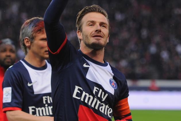 Posh Applauds, David Beckham Bursts into Tears as He's Subbed