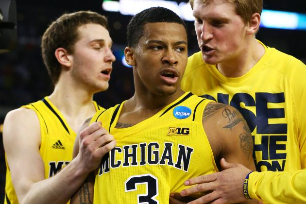 Michigan's Trey Burke Aims to Be Franchise Player in NBA