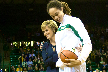 Brittney Griner Asked by Former Baylor Coach to Keep Quiet About Sexuality