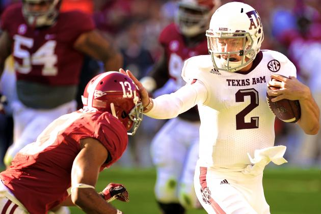 If Texas A&M QB Johnny Manziel Rushes for 1,400 Yards, Something's Wrong