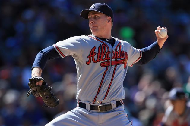 Braves Place Eric O'Flaherty on DL with Torn UCL