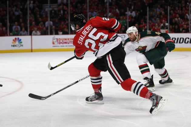 NHL Playoffs: Why Chicago Blackhawks Need Viktor Stalberg vs. Detroit Red Wings