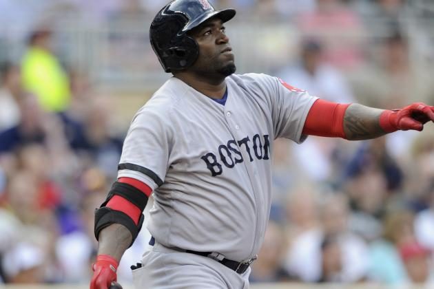 David Ortiz Hits Two Homers, Drives in Six as Red Sox Drub TheTwins