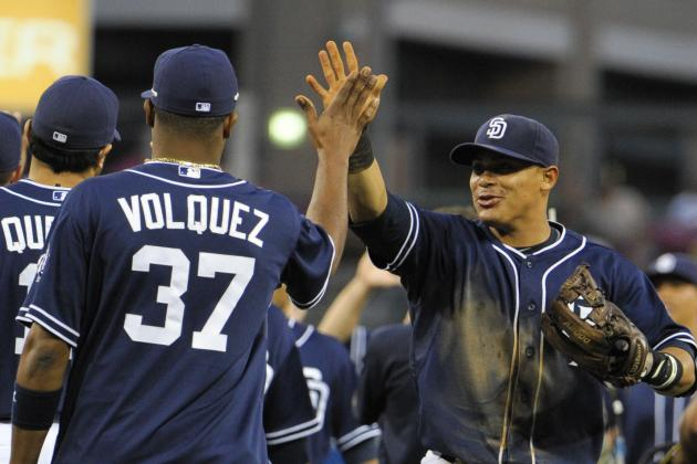 Padres Win Behind Stults, Cabrera