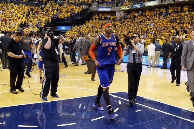 Carmelo Anthony Shouldn't Be Scapegoat for Knicks' Playoff Elimination