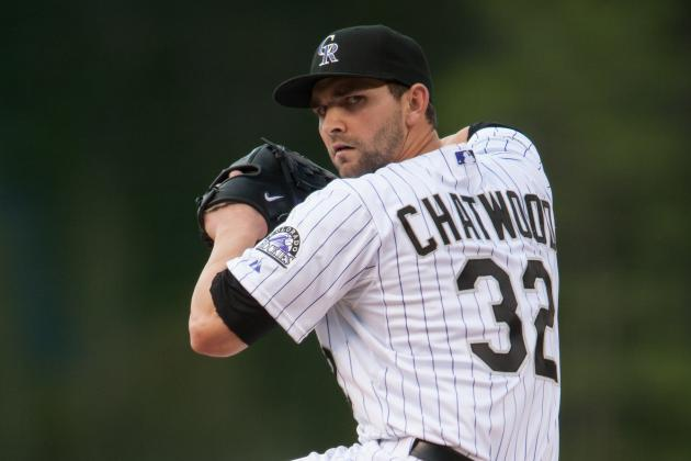 Tyler Chatwood Excels for Rockies on Mound in Easy Win over Giants