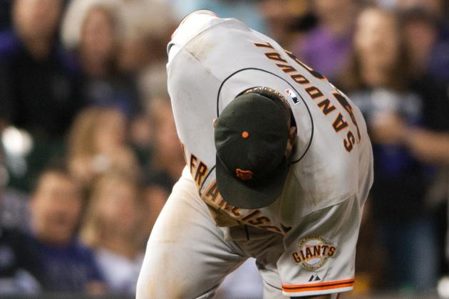 San Francisco Giants routed 10-2 by Colorado Rockies