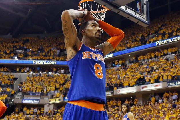 JR Smith Says He Wants to Retire with New York Knicks After Playoff Exit