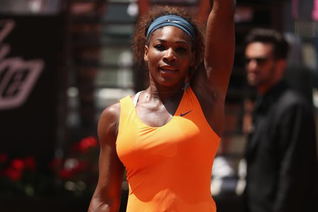 Serena Powers to Italian Open Win