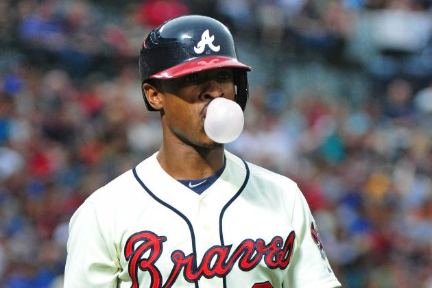 B.J. Upton out of Lineup Today vs. Dodgers