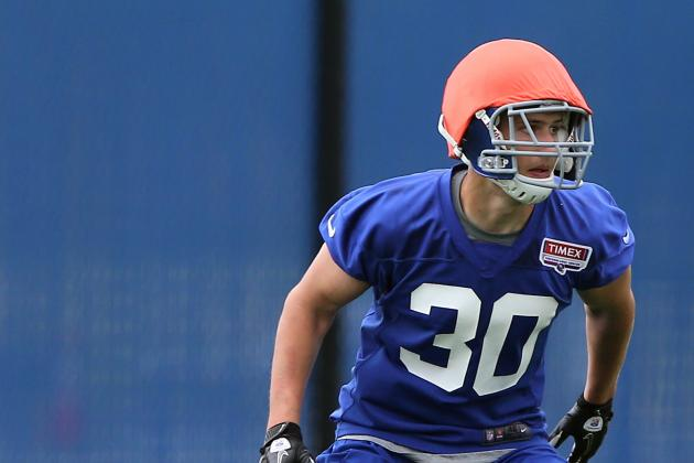 Jason Sehorn Says New York Giants Should Leave Cooper Taylor at Safety